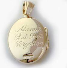 pendant engraving suggestions
