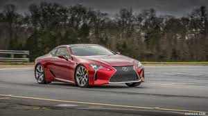 2017 lexus lc 500 coupe red front hd wallpaper 11