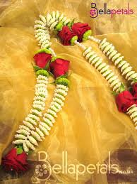 Wedding Flowers London Bellapetals Co Uk Indian U0026 Asian Wedding Garlands