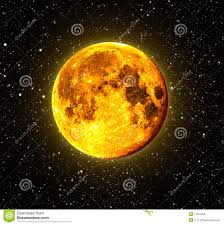 halloween orange full moon royalty free stock image image 11524656