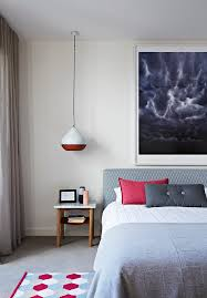 Dulux Natural White Bedroom Doherty Design Studio Prahran Townhouse Est Living