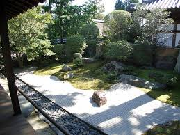 the terraces walls stairs and fences in the tsubo en zen garden