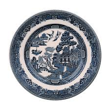 johnson brothers willow blue bread butter plate 6