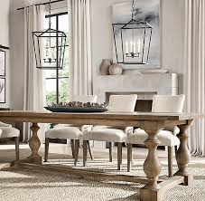 restoration hardware 17 c monastery table 17th c monastery rectangular dining table