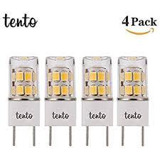 microwave light bulb led luxrite 2w 120v g8 led warm white 2700k 120lm light bulb amazon com