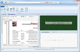 Home Design Software Bill Of Materials Bighammer Com U2013 Fence Designer Free Fence Design Software