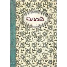 cahier de cuisine vierge mes recettes carnet vierge broché collectif achat livre