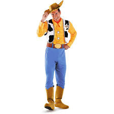 toy story deluxe woody halloween costume walmart