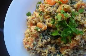 cuisiner le quinoa la poêlée quinoa patate douce recette toute douce pour se réchauffer