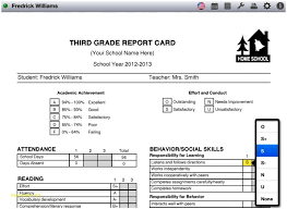 homeschool middle school report card template homeschool report card template middle schoolprofessional