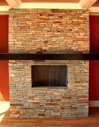 Stacked Stone Veneer Interior Stone Veneer Tile Fireplace The Modification For The Fireplace