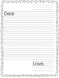 templates for handwriting letter writing template primary vgmb co