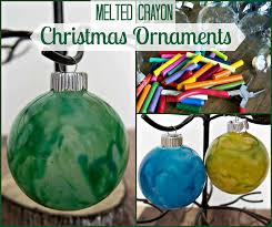 melted crayon ornaments upstate ramblings