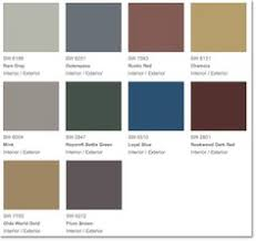 Rustic Paint Colors Color Scheme For Smokehouse Sw 7040 Smokehouse Exterior And