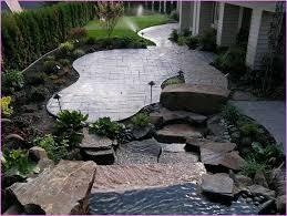 stamped concrete backyard ideas gogo papa com