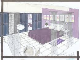 dessin en perspective d une chambre une chambre de fille photos de conception de maison brafket com con