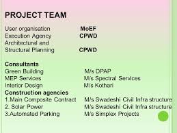 Interior Design Services Contract by Indira Paryavaran Bhawan Ppt Download