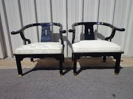 Chinese Armchair Pair Of Chairs Ming James Mont Style Century Chinese Chippendale