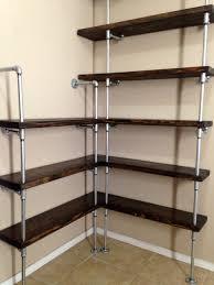 Metal Shelving Unit Shelves Stunning Metal Shelves Kitchen Modern Shelf Corner