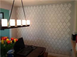 Visio Stencils For Home Design Damask Stencil For Wall U2014 Jen U0026 Joes Design Various Matters Of