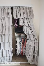 Curtains Closet Doors Drapery Panels For Closet Doors