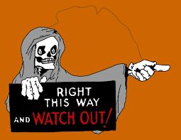 Halloween Skeleton Cartoon Merry Halloween Coloring Pages