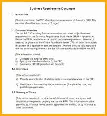7 business requirements document example data analyst resumes