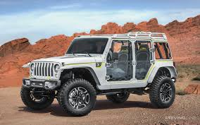 new jeep wrangler concept unveiled 2017 jeep concept vehicles drivingline