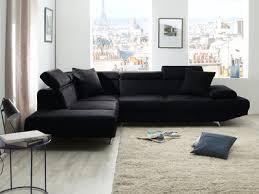canapé angle 5 places canapé d angle simili cuir 5 places avec têtières réglables