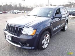 blue jeep grand cherokee srt8 2008 modern blue pearl jeep grand cherokee srt8 4x4 90444817