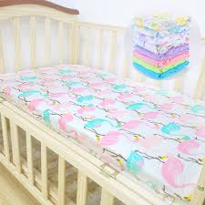 Softest Cotton Sheets Lat Cotton Muslin Baby Crib Sheet Fitted Bedding Pre Washed Softest