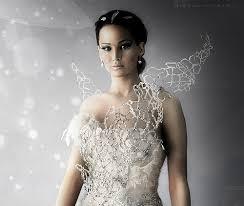 katniss everdeen wedding dress costume hunger trivia playbuzz