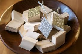 diy metallic and wood ornaments cosmo cricket