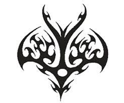 strength symbols tribal strength large arm design