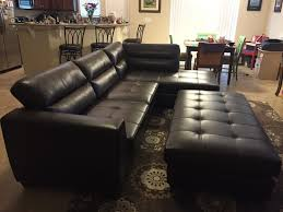 Rooms To Go Metropolis Sectional by Cindy Crawford Beachside Sofa Reviews Leather Sectional Sofa