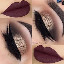 Make Up best ideas for makeup tutorials gold smokey eye plum