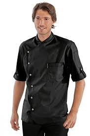veste de cuisine noir veste de cuisine arizona jpg
