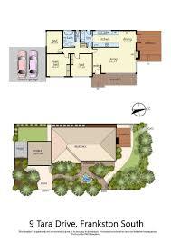 Tara Floor Plan by 9 Tara Drive Frankston South Vic 3199