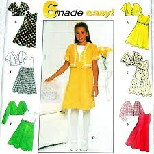 dress pattern fit and flare girls jacket dress pattern fit flare dress trim and contrast