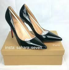 ladies shoes heels red sole christian louboutin high heel louis