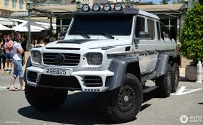 mercedes g class 6x6 mercedes benz mansory gronos g 63 amg 6x6 4 september 2017