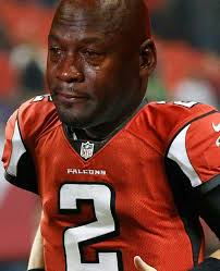Michael Jordan Crying Meme - matt ryan crying jordan meme sports unbiased