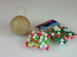 pom pom tree ornaments thriftyfun