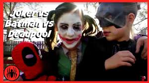 little heroes joker vs joker vs batman vs deadpool superheros in
