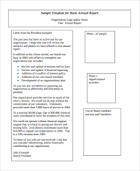 annual review report template 44 report templates free sle exle format free