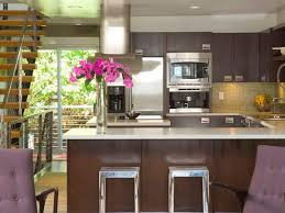 Purple Kitchen Decorating Ideas Kitchen Peninsula Ideas Hgtv