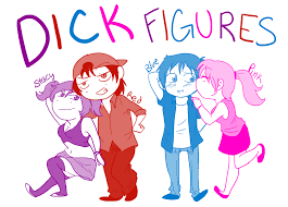 Dick Figures Meme - rule 63 of internet meme by danyd10 on deviantart