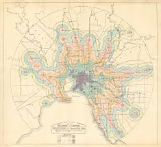 Australian Time Zone Map by 1926 Railway Or Tram Timezones Of Melbourne Australia U2013 Transit