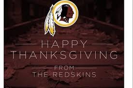 washington redskins blasted for offensive thanksgiving tweet
