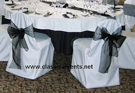 black chair sashes classic events chair cover white black sash a photo on flickriver